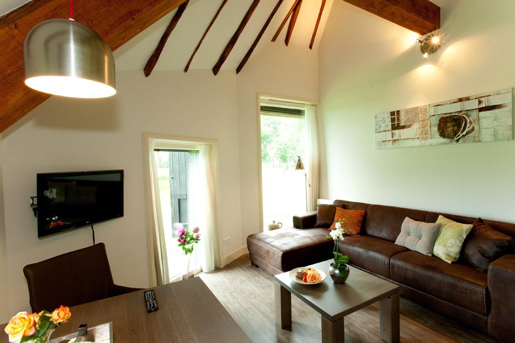 Bekijk de moderne kamers van Bed & Breakfast Groot Overhorst